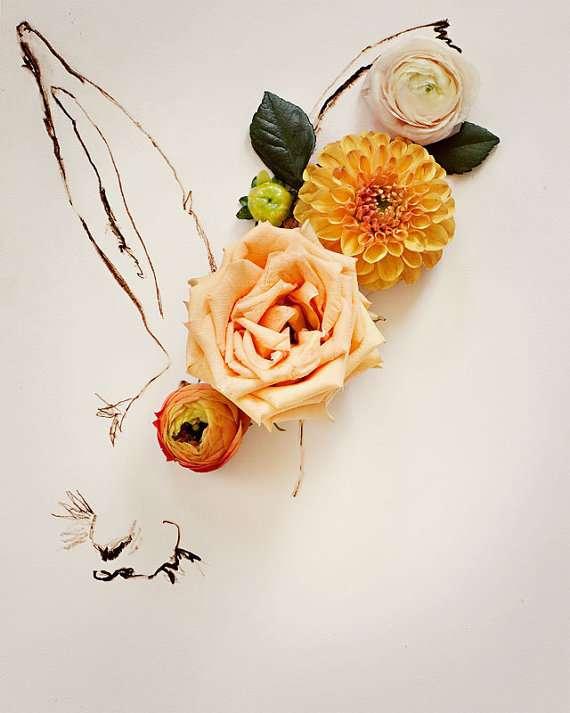 Flora-Fauna Fusion Art