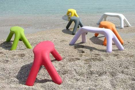 Playful Plastic Patio Decor