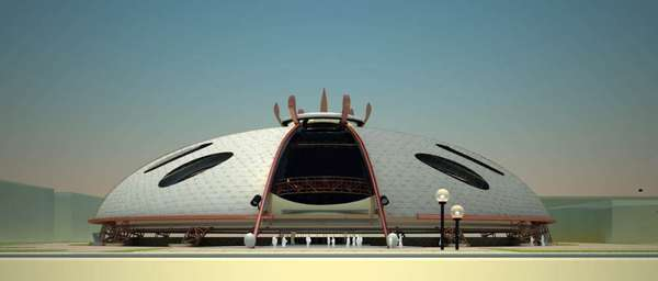 Disc-Shaped Stadiums