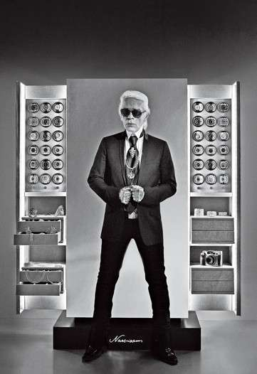 Karl lagerfeld safe