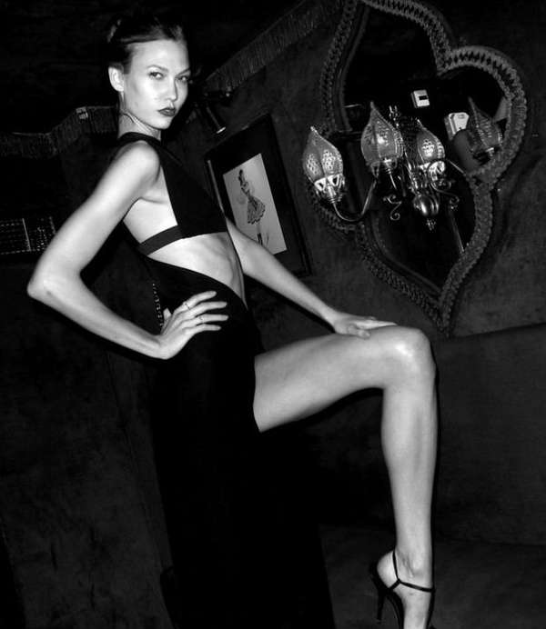 Karlie Kloss Carine Roitfeld Irreverent Ball