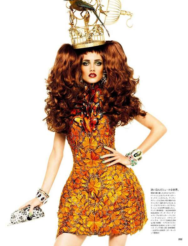 Over-the-Top Headpieces