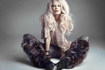 Glamorous Furry Legwarmers