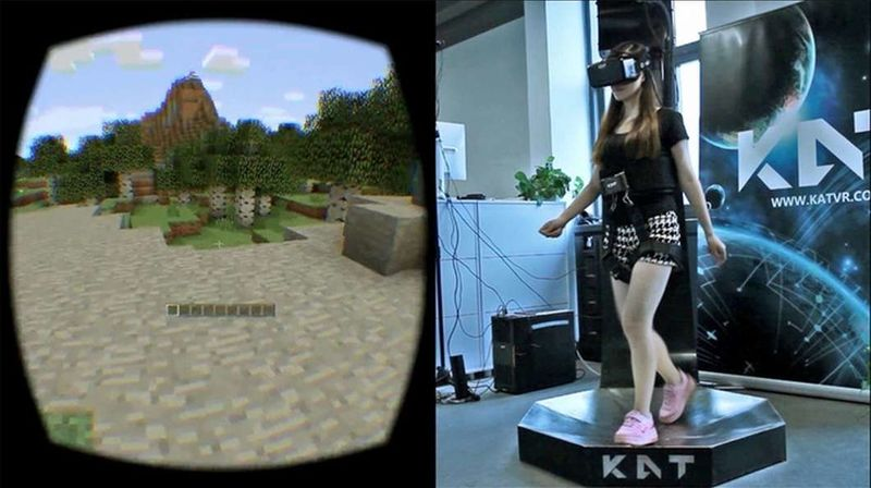Omnidirectional Virtual Treadmills