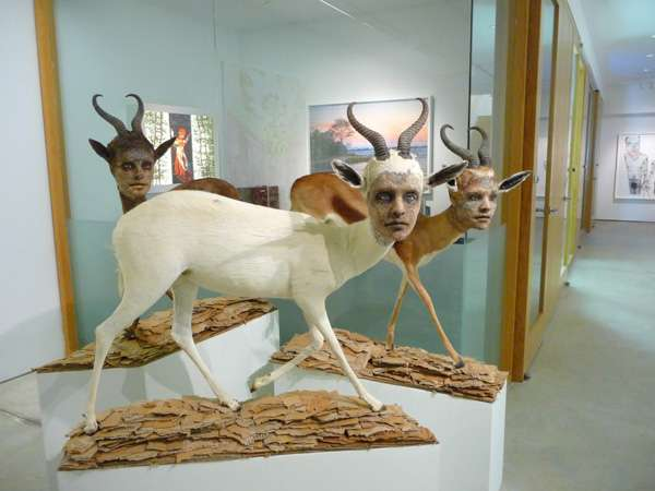 Haunting Humanimal Sculptures