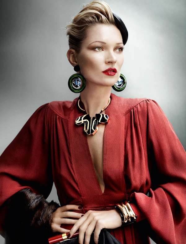 Kate Moss British Vogue
