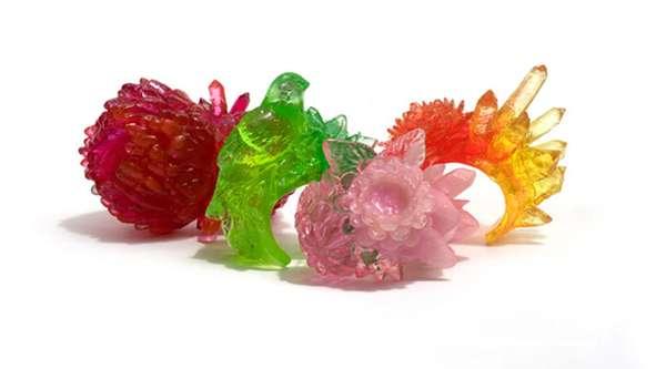 Crystalized Candy-Like Jewelry