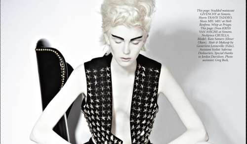 Kate Somers Dress to Kill Magazine