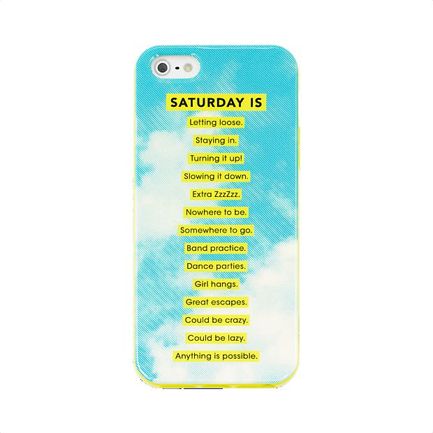 Weekend-Themed Mobile Accessories
