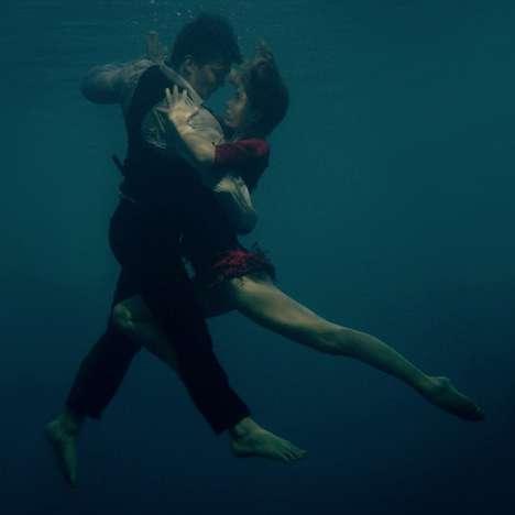 Submerged Dancer Snapshots