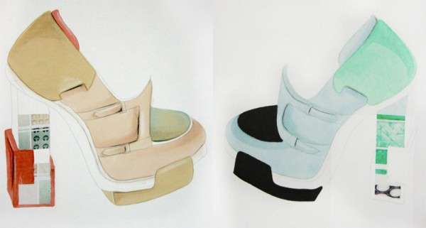Shoe Couture Artworks