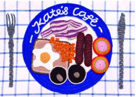 Crocheted Breakfast