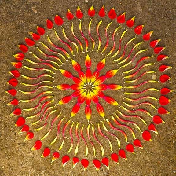 Nature-Inspired Mandalas