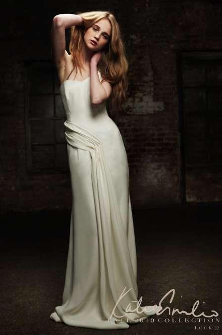 Romantically Draped Dresses