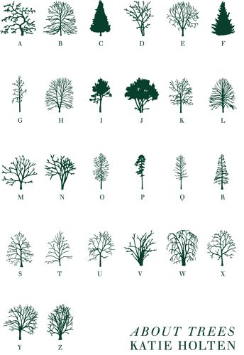 Foliage-Encoded Typefaces