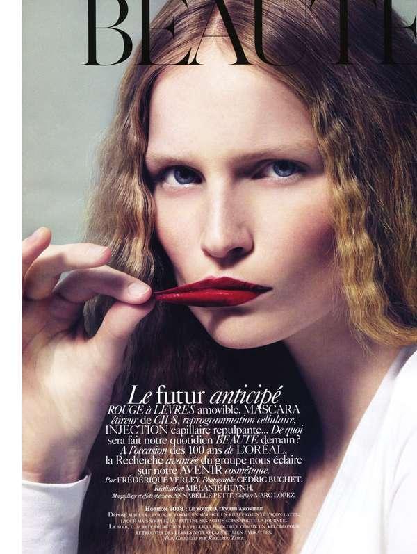 Peeling Lip Photography