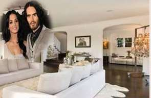 katy perry and russell brand home