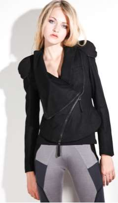 Shoulder Pad Biker Jackets