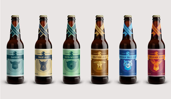 Creature-Contained Beer Branding