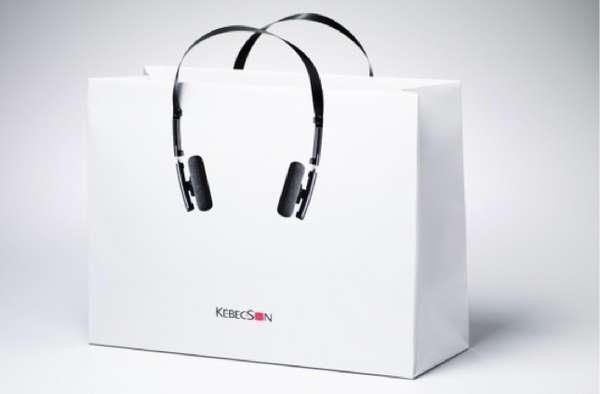 Headphone Branded Bags Kebecson Packaging