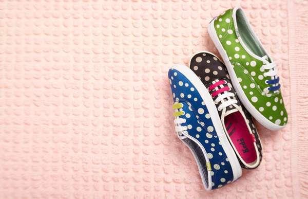 Polka Dot Footwear