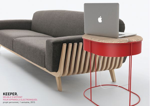 Cable-Hiding Tables