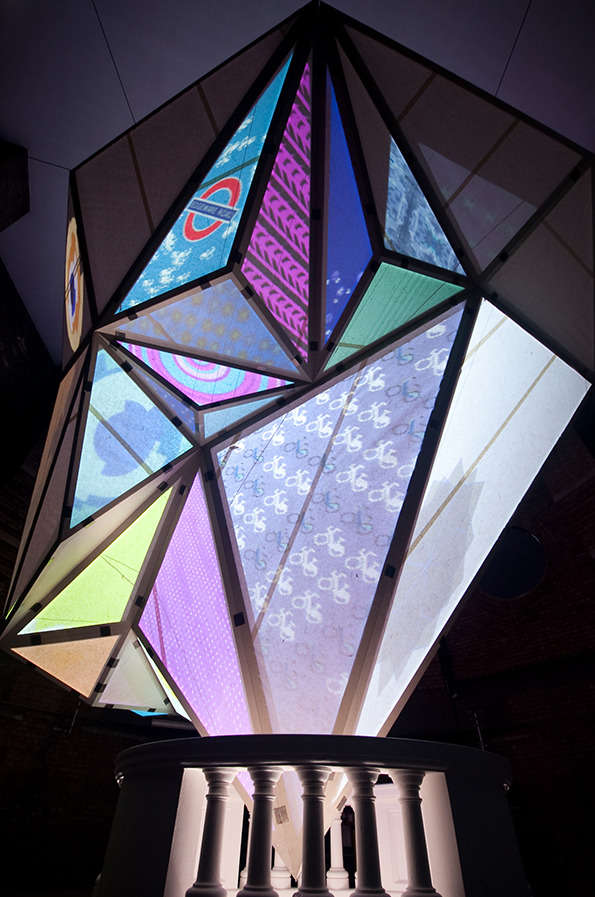 Prismatic Data Visualization Art