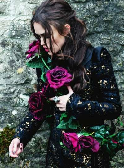 Keira Knightley in Harpers Bazaar UK