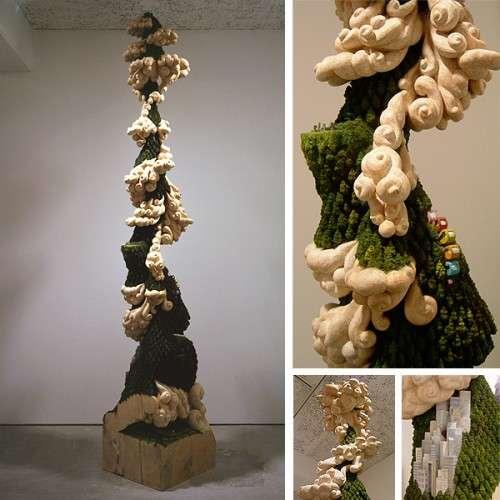 Whimsical Wood Carvings
