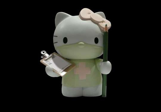 Feline Doctor Dolls