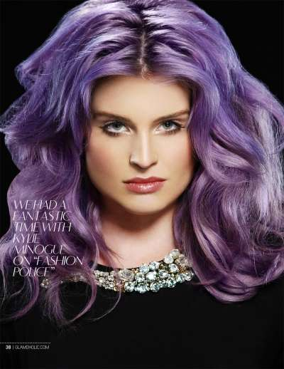 Witchy Violet-Haired Celebs