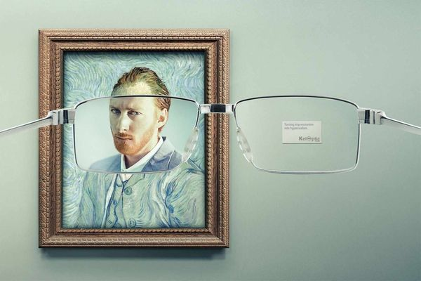 Clarifying Eyewear Paintings