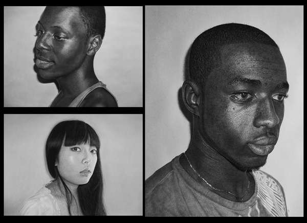 Incredible Realistic Graphite Portraits