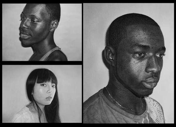 Incredible Realistic Graphite Portraits