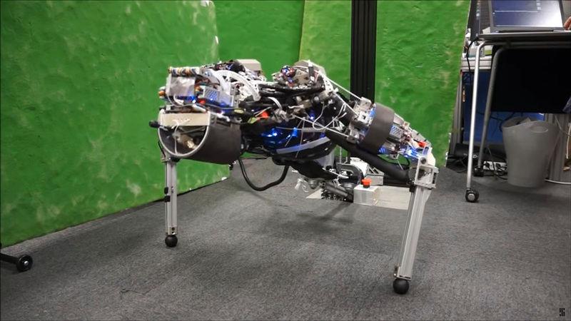 Perspiring Push-Up Robots