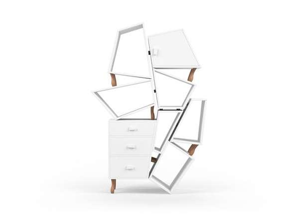 Disproportionate Storage Structures