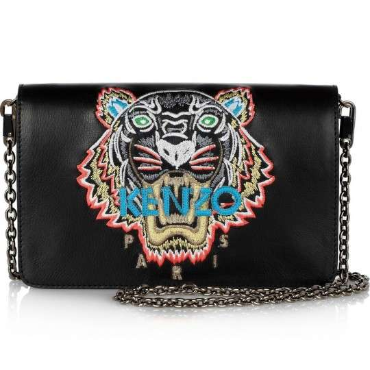 Tiger Embroidered Handbags