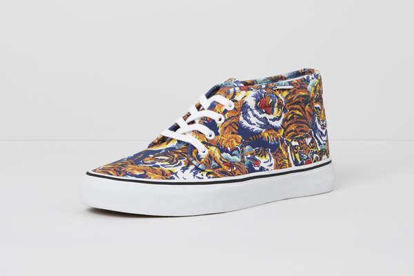 Pattern Splattered Sneakers