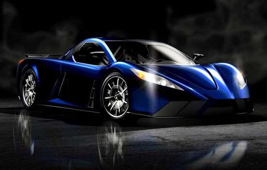 Superpower Blue Lowriders
