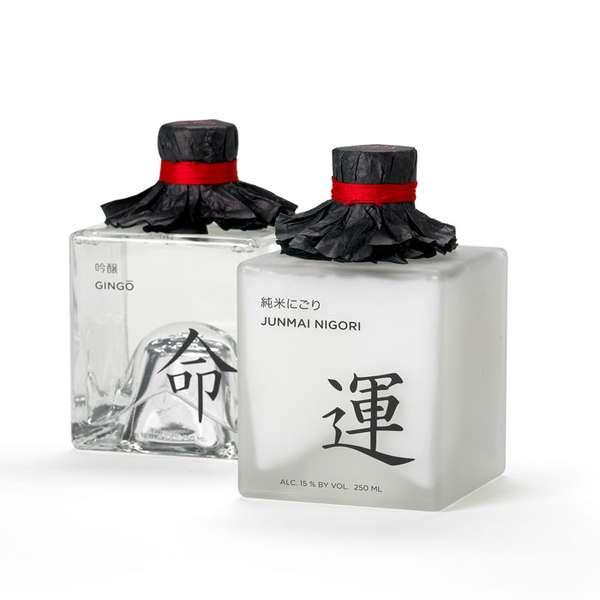 Sensual Sake Branding