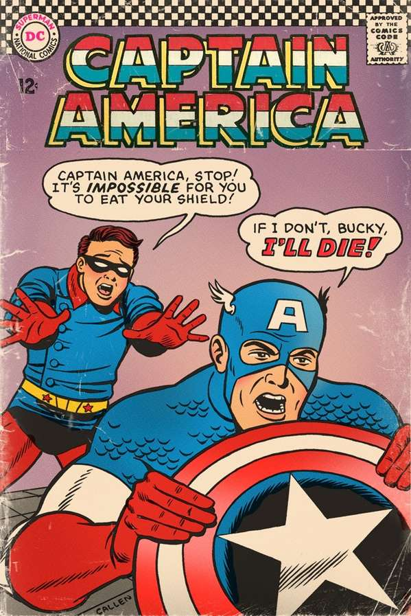 Funny Reimagined Comic Covers