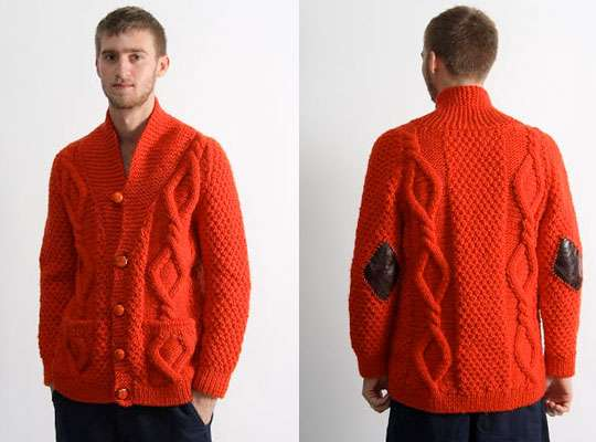 Ketchup Colored Cardigans