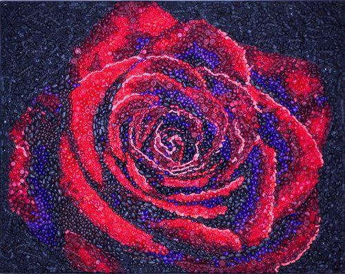 Sugary Sweet Floral Mosaics