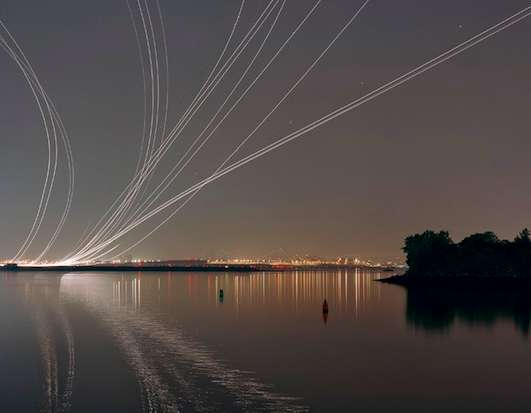 Airplane Trail Photography