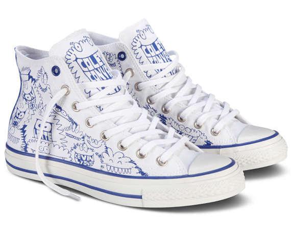 Scribbled Monster Sneakers