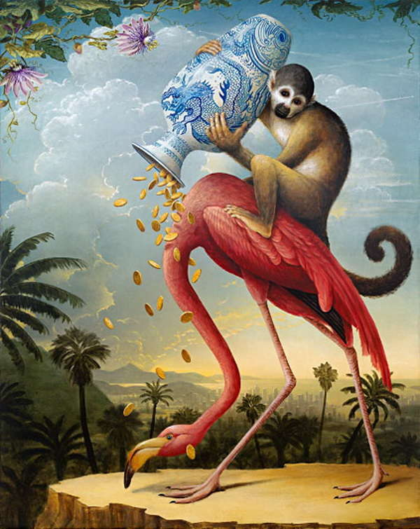 Allegorical Animal Portraits