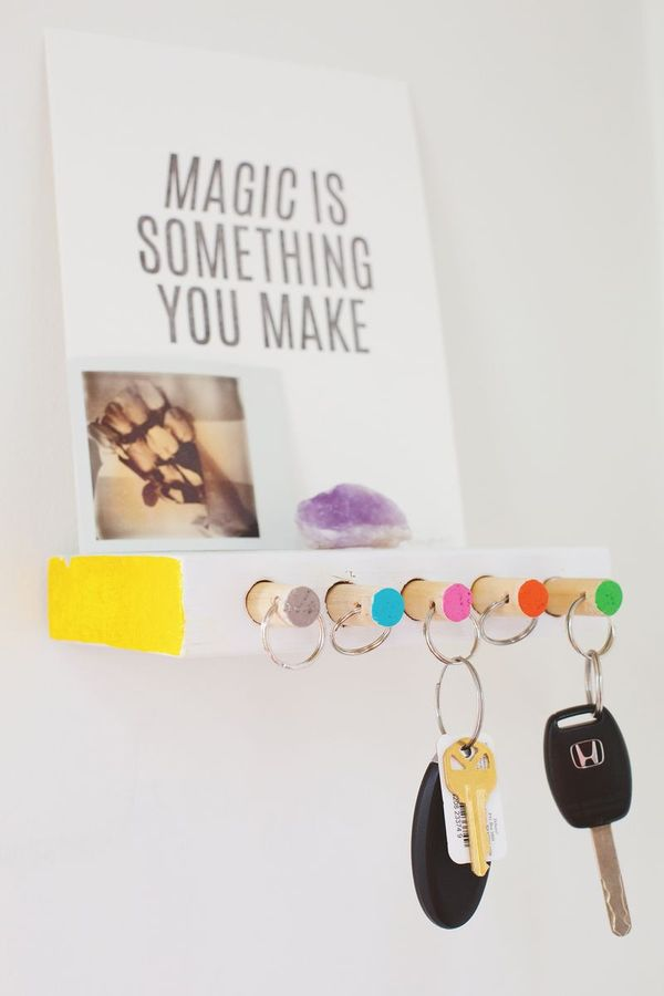 DIY Latchkey Holders