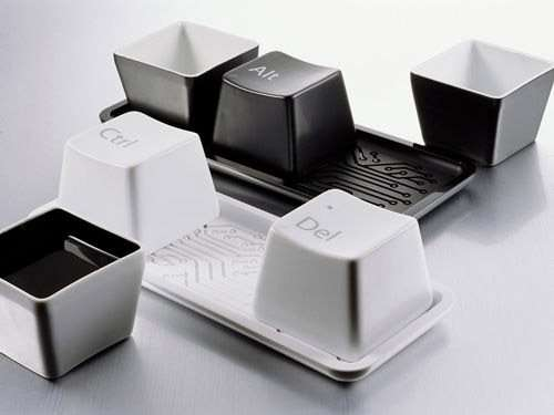 keyboard design cups