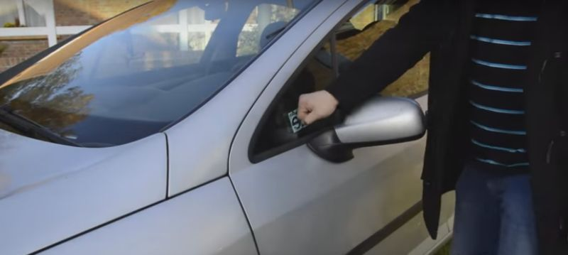 Fist-Bumping Car Locks