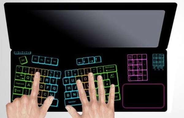 Eraseable Laptop Keyboards